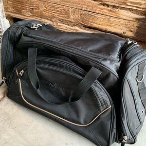 Ogio Transfer duffel bag. Wynn branded.